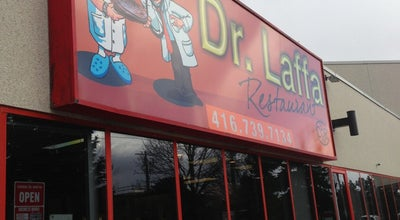 Photo of Middle Eastern Restaurant Famous Laffa (formerly Dr. Laffa) at 401 Magnetic Dr., Toronto, ON M3J 3H9, Canada