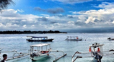 Photo of Harbor / Marina Gili Trawangan Harbour at Gili Trawangan, Indonesia