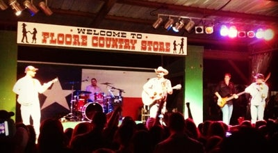 Photo of Performing Arts Venue John T Floore Country Store at 14492 Old Bandera Rd, Helotes, TX 78023, United States