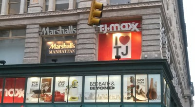 Photo of Clothing Store TJ Maxx at 250 W 57th St, New York, NY 10019, United States