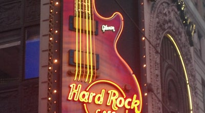 Photo of American Restaurant Hard Rock Cafe at 1501 Broadway, New York, NY 10036, United States