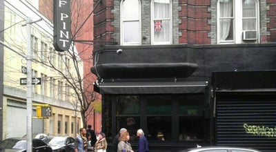Photo of American Restaurant Half Pint at 76 W 3rd St, New York, NY 10012, United States
