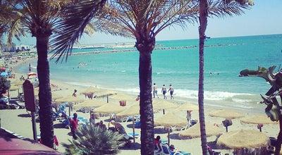 Photo of Beach Playa de la Fontanilla at Marbella, Spain