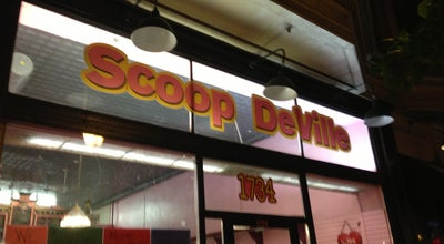 Photo of Restaurant Scoop DeVille Ice Cream Parlour at 1315 Walnut St, Philadelphia, PA 19107, United States