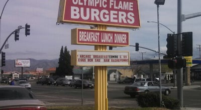 Photo of Restaurant Olympic Flame Burgers at 16304 Main St, Hesperia, CA 92345, United States