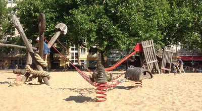Photo of Playground Spielplatz Kollwitzplatz at Kollwitzplatz, Berlin, Germany