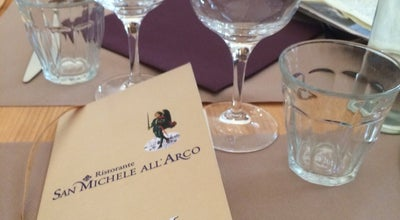 Photo of Italian Restaurant San Michele all'arco at Via Dell'oriuolo 1r, Florence 50123, Italy
