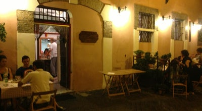 Photo of Italian Restaurant Osteria Da Olindo at Vicolo Della Scala, 8, Roma 00153, Italy