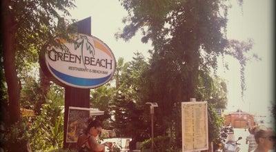 Photo of Restaurant Green Beach Restaurant at Ataturk Cad. Hotel Grand Okan Arkasi, Alanya 07400, Turkey