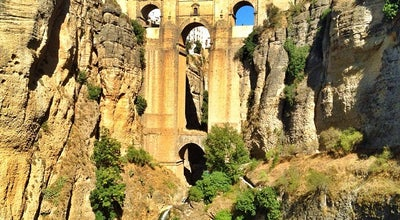 Photo of Bridge Puente Nuevo Bridge at Old Town, Ronda, Spain