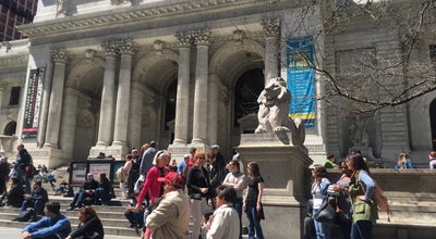 Photo of Library New York City Library - Main Branch at 5th Ave @ 41st, New York, NY 10017, United States