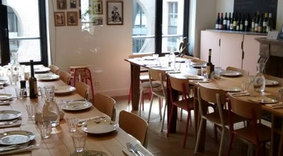 Photo of Restaurant Les Filles at Oude Graanmarkt 46 Rue Du Vieux Marché Aux Grains, Brussels 1000, Belgium