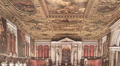 Photo of Art Museum Scuola Grande Di San Rocco at Venice, Italy