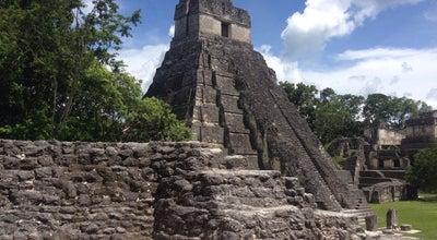 Photo of Sculpture Garden Tikal Pyramide at Tikal National Park, Tikal, Guatemala