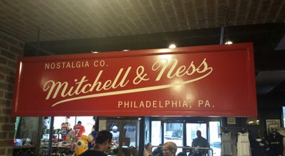 Photo of Other Venue Mitchell & Ness at 1201 Chestnut St, Philadelphia, PA 19107
