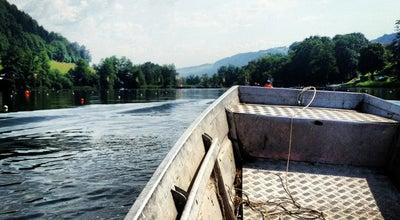 Photo of Lake Rotsee at Rotsee, Ebikon 6030, Switzerland