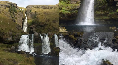 Photo of Scenic Lookout Gluggafoss at Iceland