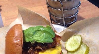 Photo of American Restaurant Hook Burger at 6201 Topanga Canyon Blvd, Woodland Hills, CA 91367, United States