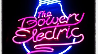Photo of Other Venue Bowery Electric at 327 Bowery, New York, NY 10003