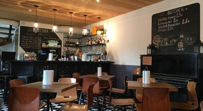 Photo of American Restaurant Le Butcher at Mesiniu G. 3, Vilnius 01133, Lithuania
