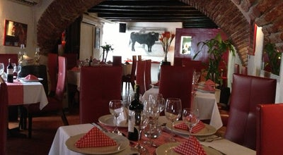 Photo of Seafood Restaurant El Burlador de Sevilla at Calle Santo Domingo No 33-88, Cartagena 130001, Colombia