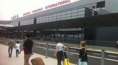 Photo of Airport Terminal 上海虹桥国际机场2号航站楼 T2 Shanghai Hongqiao Int'l Airport at Sha Airport, Shanghai, 上海, China
