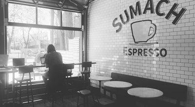 Photo of Coffee Shop Sumach Espresso at 118 Sumach St, Toronto, On M5A 3J9, Canada