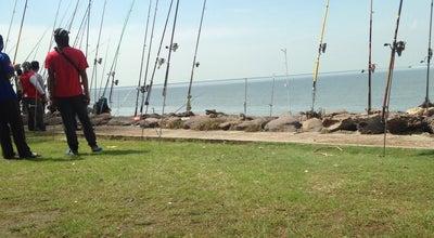 Photo of Beach Tambak Batu Pontian at Pontian, Malaysia