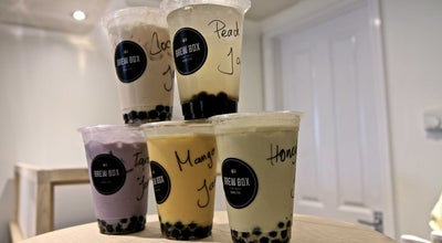 Photo of Cafe Brew Box Bubble Tea at 120 Islington High Street, London N1 8EG, United Kingdom