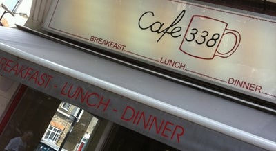Photo of Cafe Cafe 338 at 338 Bethnal Green Road, London E2 0AG, United Kingdom
