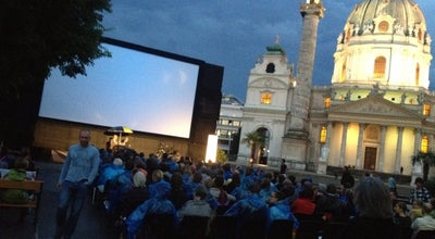 Photo of Tourist Attraction Kino unter Sternen at Augarten-park, Vienna 1010, Austria