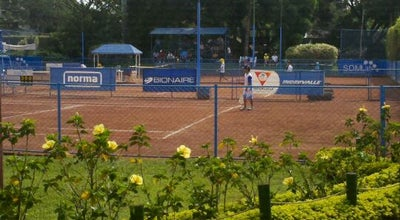 Photo of Tennis Court Club De Tenis Cali at Calle 2 # 59-36, Pampalinda, Colombia