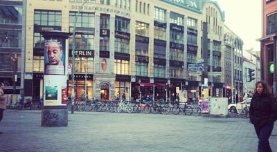 Photo of Plaza Hackescher Markt at Hackescher Markt, Berlin 10178, Germany