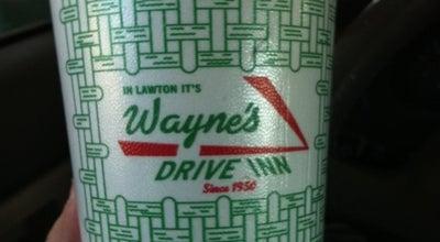 Photo of Burger Joint Waynes Drive Inn at 7 Sw Sheridan Rd, Lawton, OK 73505, United States