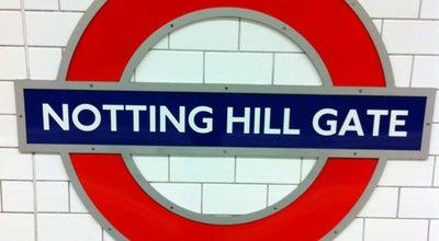 Photo of Subway Notting Hill Gate London Underground Station at Notting Hill Gate, Notting Hill W11 3HT, United Kingdom