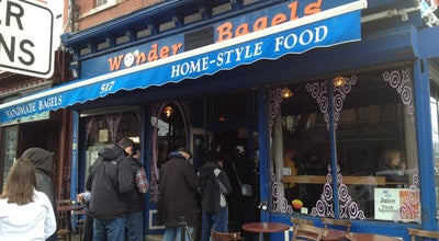 Photo of American Restaurant Wonder Bagels at 517 Jersey Ave., Jersey City, NJ 07302, United States