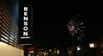 Photo of American Restaurant Benson Brewery at 6059 Maple St, Omaha, NE 68104, United States