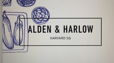 Photo of New American Restaurant Alden & Harlow at 40 Brattle St, Cambridge, MA 02138, United States