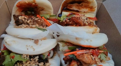 Photo of Fast Food Restaurant Mean Bao at 19-275 Dundas St W, Toronto M5T 3K1, Canada
