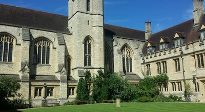 Photo of General College and University St. Cross College at 61 St Giles', Oxford OX1 3LZ, United Kingdom