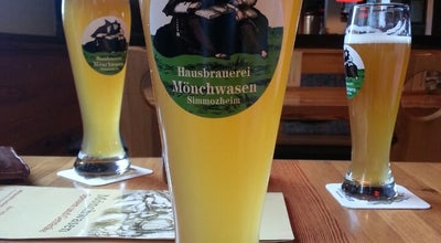 Photo of Brewery Hausbrauerei Mönchwasen at Im Mönchgraben 30, Simmozheim 75397, Germany