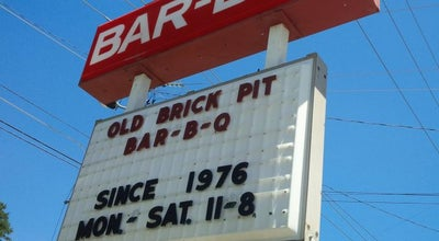 Photo of American Restaurant Old Brick Pit Barbeque at 4805 Peachtree Rd, Chamblee, GA 30341, United States