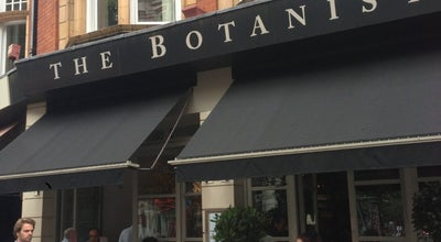 Photo of Modern European Restaurant The Botanist at No 7 Sloane Square, London SW1W 8EE, United Kingdom