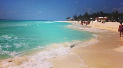 Photo of Beach Playacar Beach at Playa Del Carmen, Mexico