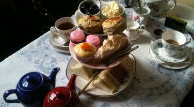 Photo of English Restaurant Soho's Secret Tea Room at 29 Greek Street, London W1D 5DH, United Kingdom