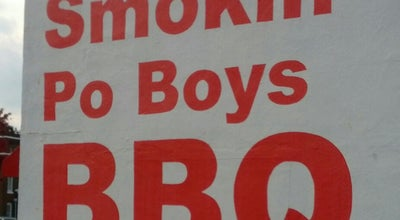 Photo of American Restaurant Smoking Po Boys BBQ Restaurant at 67 W Athens St, Winder, GA 30680, United States