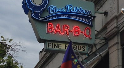 Photo of American Restaurant Blue Ribbon BBQ at 1375 Washington St, Newton, MA 02465, United States