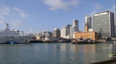 Photo of Pier Pier 2 Ferry Terminal at Auckland, New Zealand