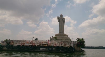 Photo of Lake Hussain Sagar at Necklace Rd, Hyderabad, India