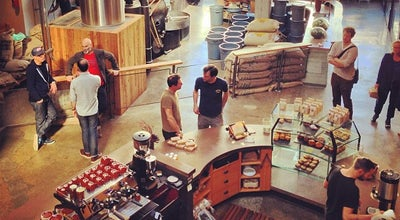 Photo of Coffee Shop Sightglass Coffee at 270 7th St, San Francisco, CA 94103, United States